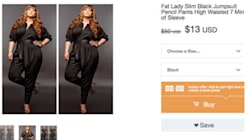 Lorsqu'un site de vente en ligne utilise le terme «grosse» pour taille