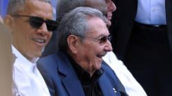 Obama et Castro font la
