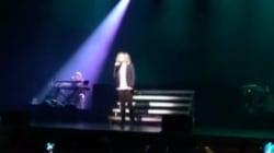La chanson hommage de Lara Fabian lors de son concert à