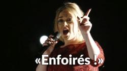 Adele insulte les terroristes de