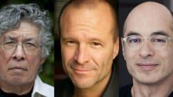 Bernard Werber, Thomas King et Pierre Simenon au Métropolis Bleu