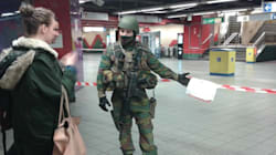 Treni vuoti e pochi coraggiosi sulla metro il giorno dopo gli attentati di