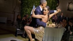 Watch President Obama Try Dancing The