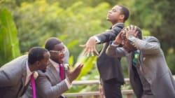 18 Times Groomsmen Elevated The Wedding Photo