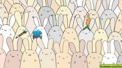 Pouvez-vous trouver l'oeuf de Pâques parmi les