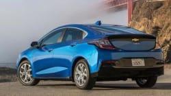 Le Mazda CX-3 et la Chevrolet Volt sont véhicules verts de
