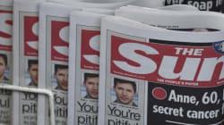 Le quotidien The Sun blâmé pour un article sur les