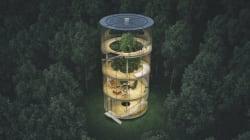 近未来のツリーハウスは、環境に優しくてかっこいいんだ(画像集)