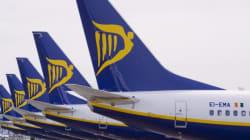 Pánico en un vuelo de Ryanair entre Barcelona e Ibiza al impactar un rayo en un