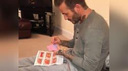 David Beckham, ce papa