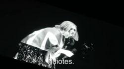 Adele a un message pour ceux qui ne jurent que par