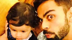 Virat Kohli's Selfie With Dhoni's Daughter Is The Most Adorable Thing You Will See
