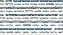 Un graphiste réalise un compendium du transport collectif à