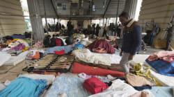 Nouvelle évacuation d'un campement d'un millier de migrants à
