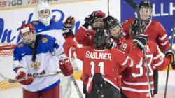 Cinq buts en moins de cinq minutes mènent les Canadiennes à la