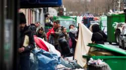 Paris: la police évacue un millier de migrants près d'une station de