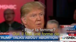 Donald Trump veut punir les femmes qui avortent (mais il ne sait pas