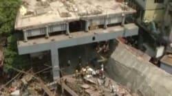 Une route surélevée s'effondre en Inde: au moins quinze morts