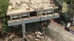 Effondrement spectaculaire d'un autopont à Calcutta, au moins 14
