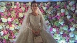 Cette robe de mariée coûte plus cher que bien des