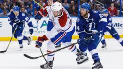 Le Canadien défait le Lightning, mais perd Beaulieu
