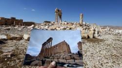 La cité antique de Palmyre avant et après l'occupation de