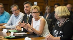 Wynne Stops Dodging Fundraising