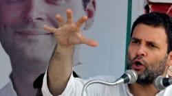 Rahul Gandhi Hits Out At Modi,