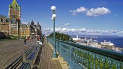 Manifestation à Québec pour exiger un registre des délinquants