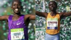 Double victoire kenyane au marathon de