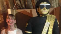Baker Makes Life-Sized Michael Jackson Cake Out Of Rice