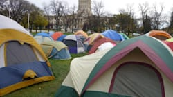 Occupy Winnipeg Fire Tests
