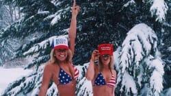 Le nouveau mouvement de soutien très (trop?) sexy de Donald