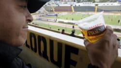 L'alcool sera autorisé dans les gradins de la finale de la Coupe de la