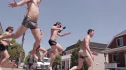 Vous verrez des coureurs presque nus dans Hochelaga le 1er