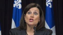 Lois environnementales pour le port de Québec: Stéphanie Vallée porte la cause en
