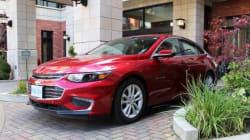 Premier contact Chevrolet Malibu 2016 : la pratique est mère du