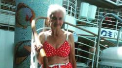 À 90 ans Irene nous fait la démonstration qu'il n'y pas d'âge pour porter un
