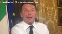 Renzi alle prese con i troll durante #matteorisponde: