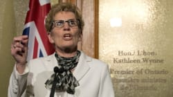 Wynne Cancels Private Fundraisers After Raising $2.5M In 1