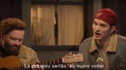 ASSISTA: 'EIIIITA, MUNDÃO!' Ashton Kutcher dubla clássico de Sérgio