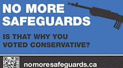 NDP Gun Registry Ad Features Wrong