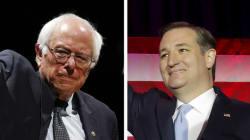 Bernie Sanders et Ted Cruz remportent les primaires du