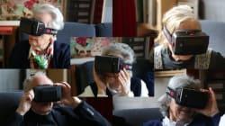 On a fait tester un casque de réalité virtuelle à des personnes âgées