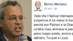 Mentana critica il Festival di Perugia: