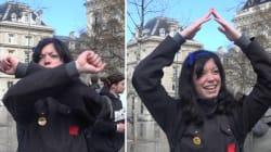 Le langage des signes de
