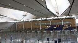 Vols retardés à cause du mauvais temps à l'aéroport de