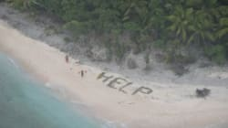 Castaways Rescued After Spelling Out 'HELP' On A Pacific