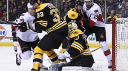 Les Bruins de Boston ne seront pas des