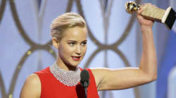 Jennifer Lawrence Wore This Dress Because She Had Her